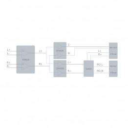 FiiO AM3A balanced erősítő modul X7-hez, Q5-höz