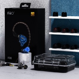 FiiO FD1 IEM fülhallgató - Fekete