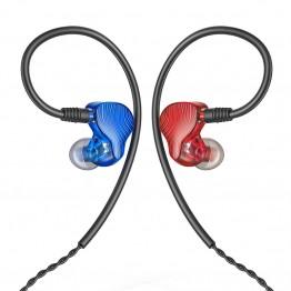 FiiO FA1 kék-piros IEM fülhallgató
